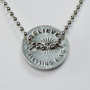 Believe Blessing Ring