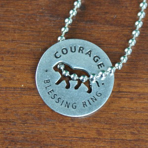 Courage Blessing Ring