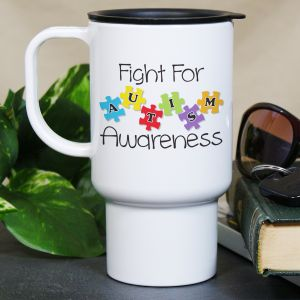 Fight for Autism Awareness Mug