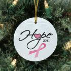 Ceramic Hope Awareness Christmas Ornament U494310