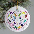 Life Matters Awareness Christmas Ornament