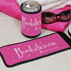 Boobilicious Breast Cancer Awareness Can Wrap Koozie 345789