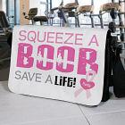 Squeeze a Boob - Breast Cancer Awareness Shoulder Bag 6124502