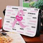Hope and Love Breast Cancer Awareness Shoulder Bag 6136632