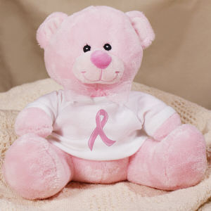 Pink Ribbon Breast Cancer Teddy bear