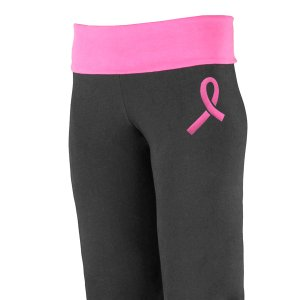 Breast Cancer Awareness Yoga Pants