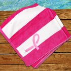 Breast Cancer Awareness Beach Towel E7894130PK