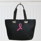 Pink Ribbon Quilted Bag E7894134