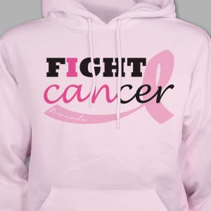 Fight Cancer Awareness Hooded Sweatshirt