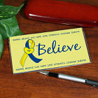Personalized Down Syndrome Awareness Checkbook Cover