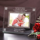 Memorial Glass Picture Frame