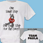 Personalized Needs a Cure Diabetes Awareness T-Shirt 34152X