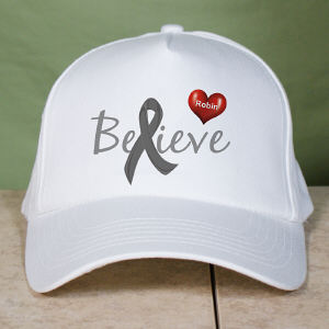 Personalized Believe Diabetes Awareness Hat