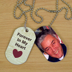 Memorial Photo Dog Tags