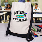 Autism Awareness Sports Bag CSP840872X