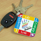Personalized Autism Awareness Keychain 340900