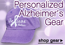 Alzheimer's Awareness Gear