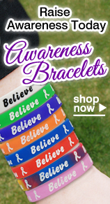 Raise Awareness with Awareness Bracelets