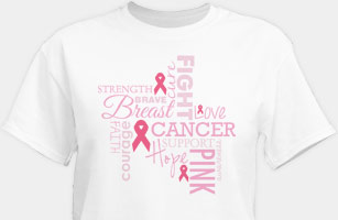 Breast Cancer Awareness Shirts and Walk Gear