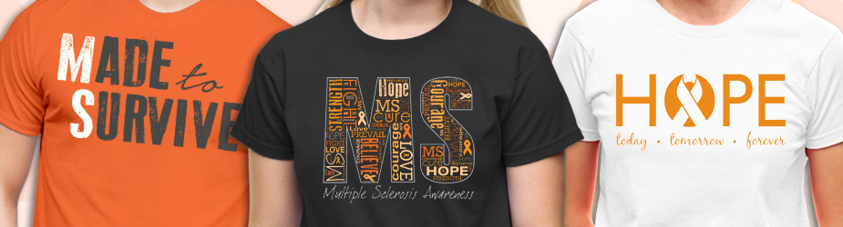 Multiple Sclerosis Awareness Walk Gear and Apparel