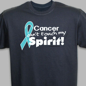 Teal Hope Ribbon T-Shirt
