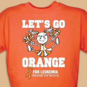 Let's Go Orange for Leukemia T-Shirt