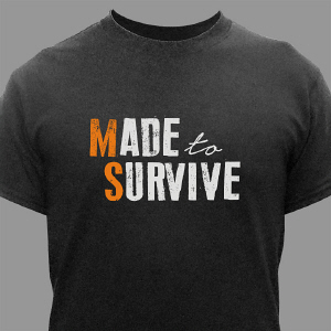 MS Awareness Survivor T-Shirt