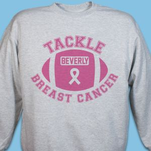 Tackle Breast Cancer Sweatshirt