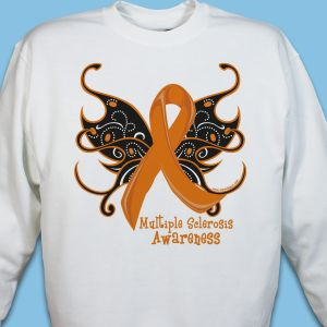 MS Butterfly Ribbon Sweatshirt