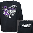 Pancreatic Cancer Awareness Long Sleeve Shirt