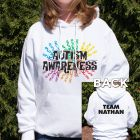 Autism Walk Team Hooded Sweatshirt H54093X