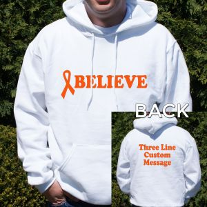 Believe MS Awareness Hooded Sweatshirt