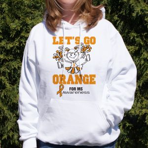 Let's Go Orange Hooded Sweatshirt