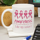 Awareness - Breast Cancer Awareness Personalized Coffee Mug