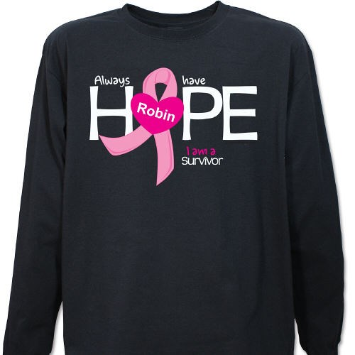 9be6bb6f Always Have Hope Long Sleeve Shirt | MyWalkGear.com