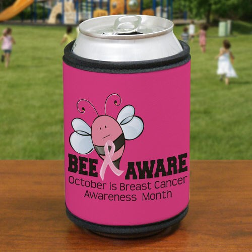 Bee Aware Breast Cancer Can Wrap