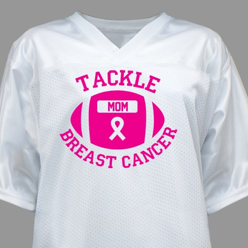 57bd4905c Tackle Breast Cancer Football Jersey